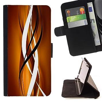 For Samsung Galaxy E5 E500 Case , Oro Marrón Negro Limpiar ...