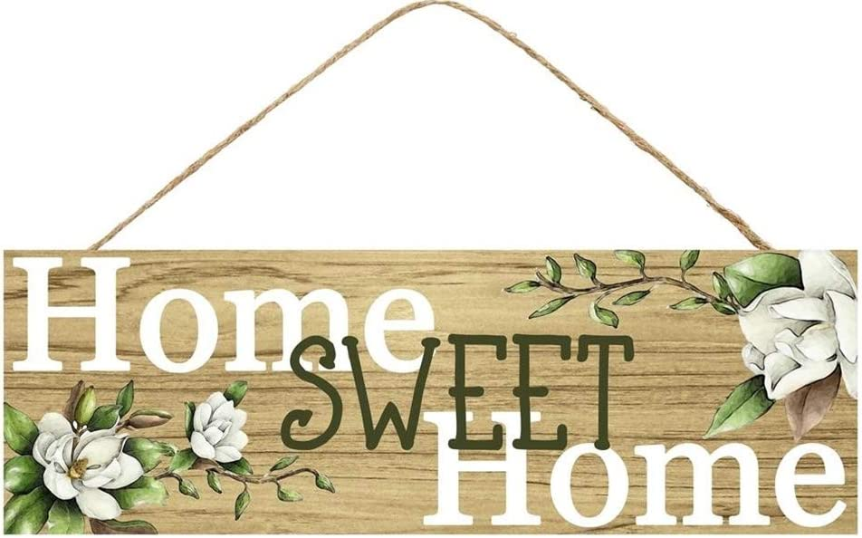 HAPPY DEALS ~ Home Sweet Home Magnolia Sign | 15 x 5 inch