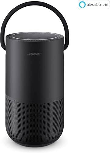 Bose Portable Home Speaker with Alexa Voice Control Built-In, Black