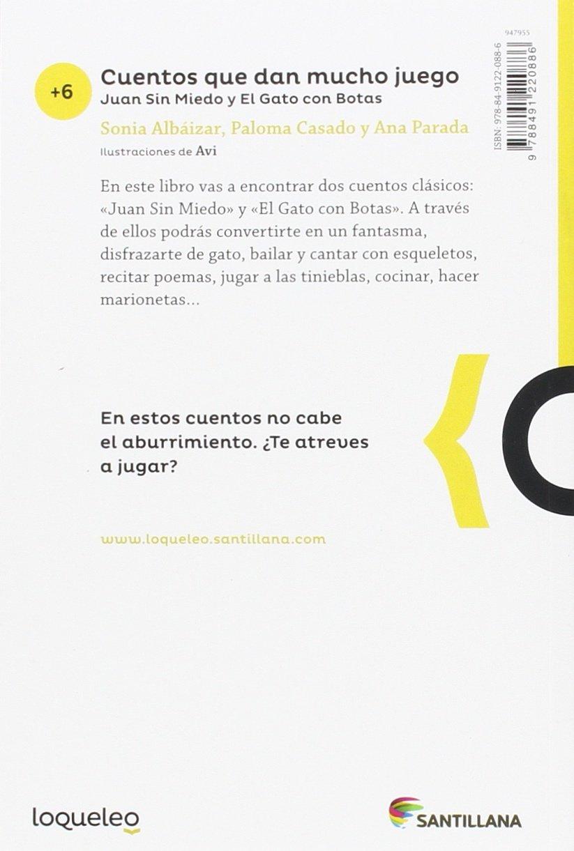 Cuentos que dan mucho juego: Sonia Albaizar Fernández, Paloma Casado Santillan, Ana Parada Bendi: 9788491220886: Amazon.com: Books