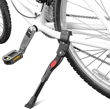 Q&A soporte de bicicleta, aleación de aluminio soporte de apoyo ...