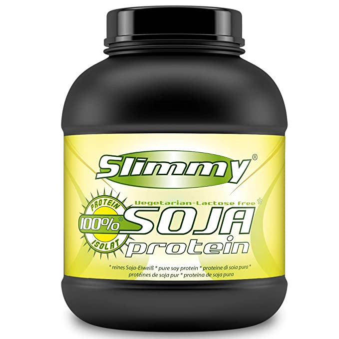SLIMMY - Dieta baja en carbohidratos - 100 % de aislado de proteína de soja, 1000g chocolate