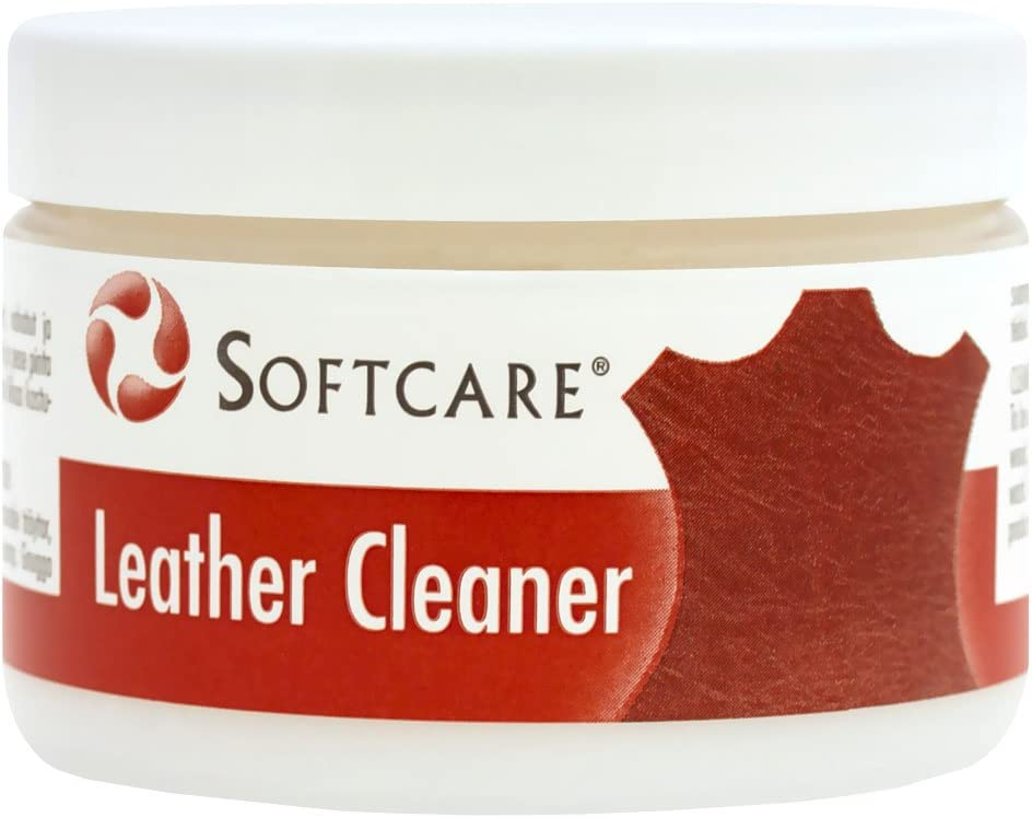 M-SOLUCIONES - Softcare Limpiador para Cuero Piel Polipiel. para Sofás Sillas Coche Zapatos Bolsos
