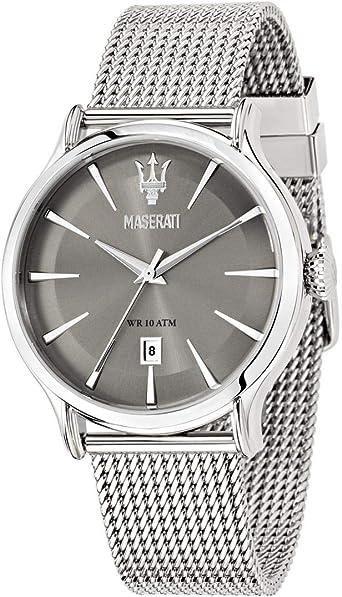 Reloj para Hombre, Colección Epoca, Movimiento de Cuarzo, Solo Tiempo con Fecha, en Acero - R8853118002: Amazon.es: Relojes