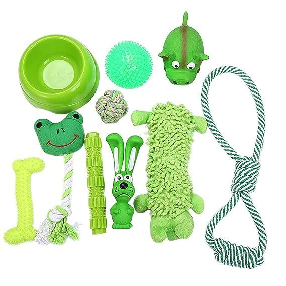 Pet Supplies : HBK 7pcs/Set Pet Dog Toys Set Interesting Dog Toys Training Chew Cotton Knot Toys Dogs Chew Toys Set Product Supplies : Amazon.com