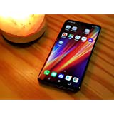 LG V50 ThinQ Smartphone LMV450PM, 5G, 128GB, Aurora Black - Sprint CDMA and GSM Unlocked