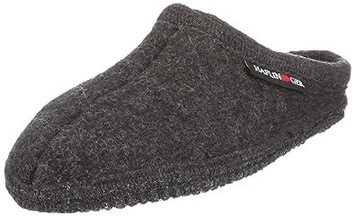 Alaska, Unisex-Erwachsene Pantoffeln, Schwarz (Schwarz 03), 38 EU Haflinger