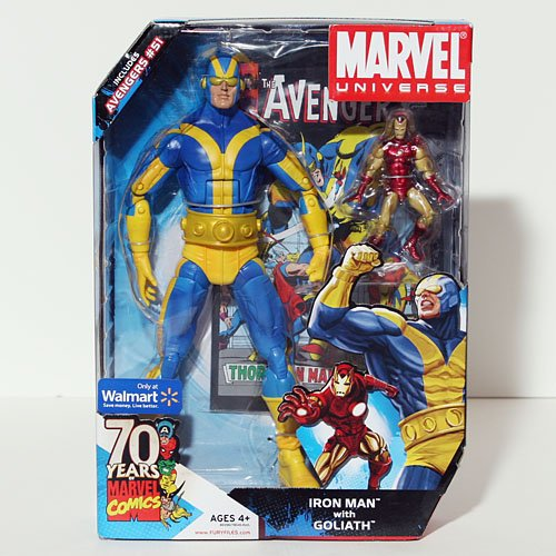 Marvel Iron Man with Goliath Exclusive Universe Action Figure Set