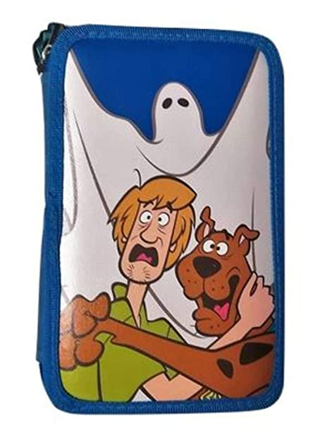 8cf0ecfae4 PREZIOSI Astuccio Shrek 3 Zip pensil Case Azzurro con Stampa Scooby-Doo