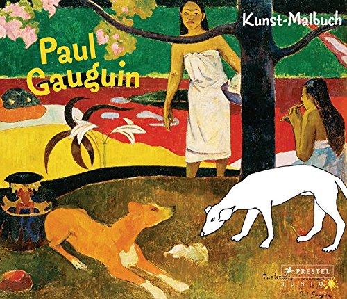 Kunst-Malbuch Paul Gauguin