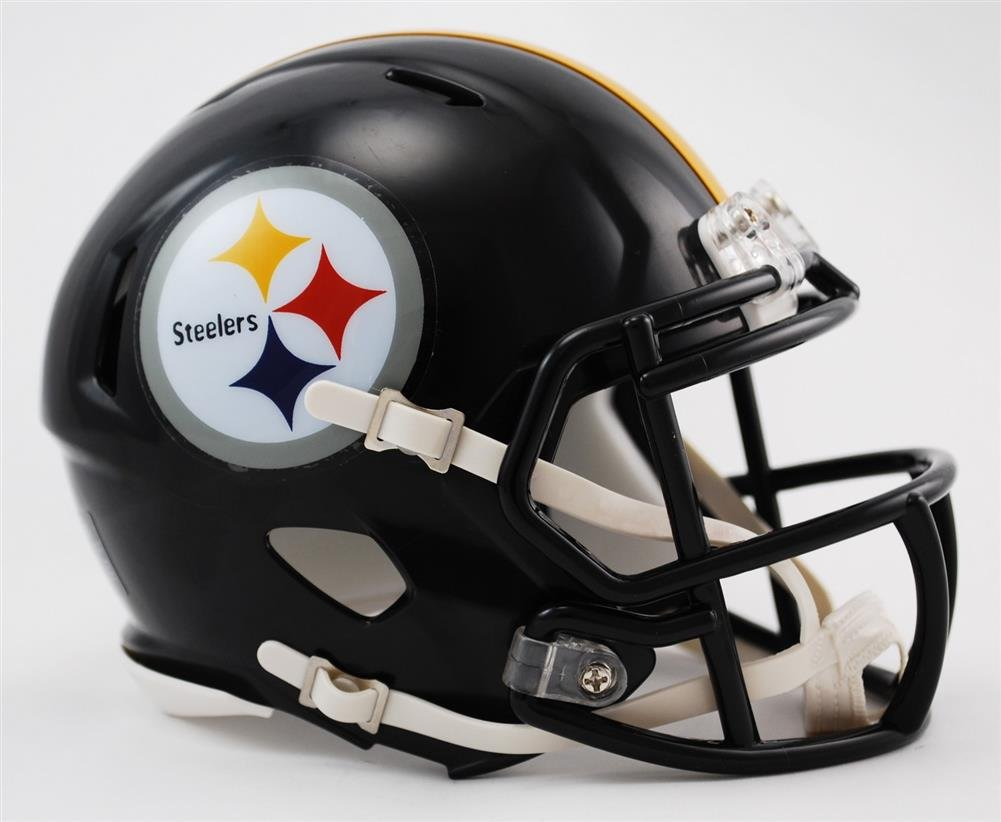 amazon com riddell mini football helmet nfl speed pittsburgh