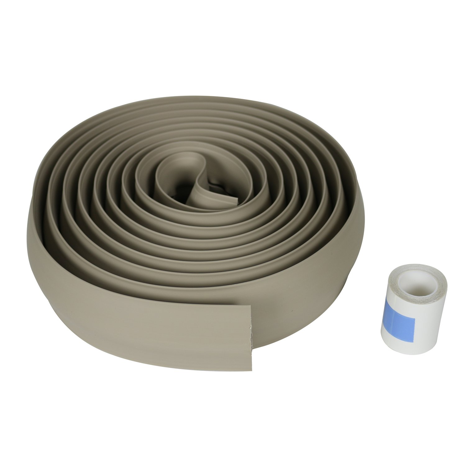 Legrand - Wiremold CDI-15 Corduct Overfloor Cord Protector- Rubber Duct Floor Cord Cover, Ivory, 15 Feet (180 Inches)