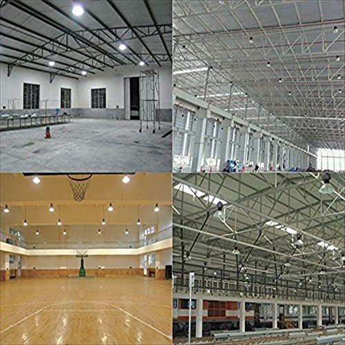 Indoor Factory Warehouse Light Led High Bay Light 60w High: UFO LED High Bay Light 13000 Lumens Super Bright