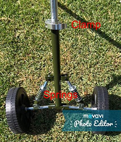 Grasshopper Universal String Line Trimmer Wheels 4 Gas//Electric Independent Suspension Shock VKRP Enterprises