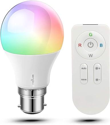 Sengled Paint Ampoule LED RGBW Couleur contrôlée Via Telecommande sans Fil, Lamp d'ambiance avec 16 Couleurs Changeables, 2W, Culot B22, Lot de 1