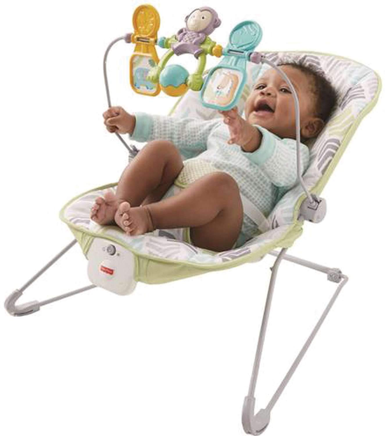 Fisher Price Babys Bouncer Geo Meadow