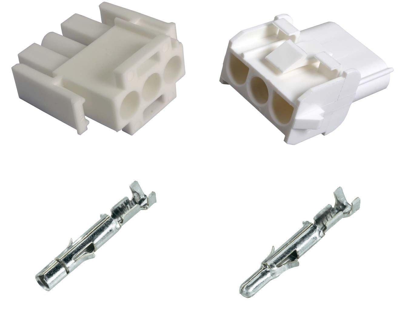 Kit Connecteur et terminale Tyco Universal Mate N Lok m/âle femelle 4/voies