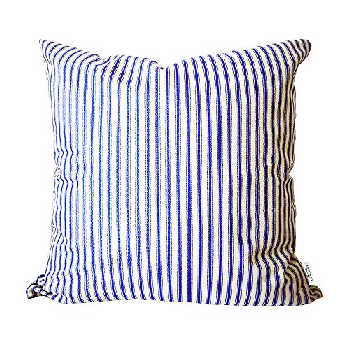 Chiccat Ticking Stripe Pillow Cover French Ticking Pillow Cotton