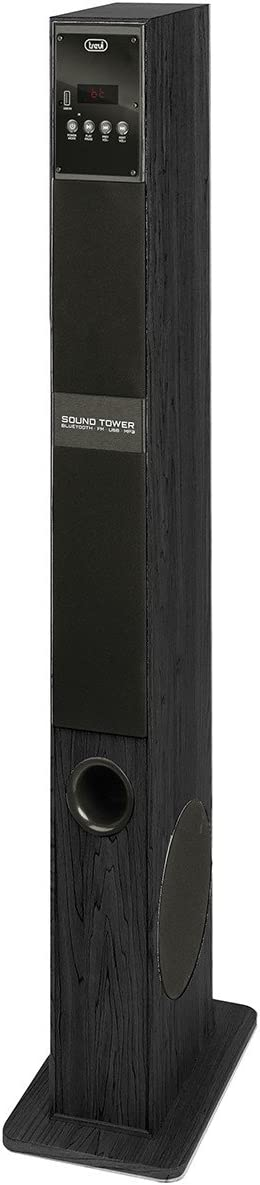 Trevi XT 108 BT 60W Negro Altavoz - Altavoces (2.0 Canales, Inalámbrico y alámbrico, USB/Bluetooth, 60 W, 30-20000 Hz, Negro)