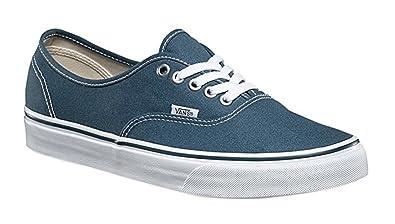 Vans Unisex Authentic Sneaker Dark Slate/True White Size 13 M US Men