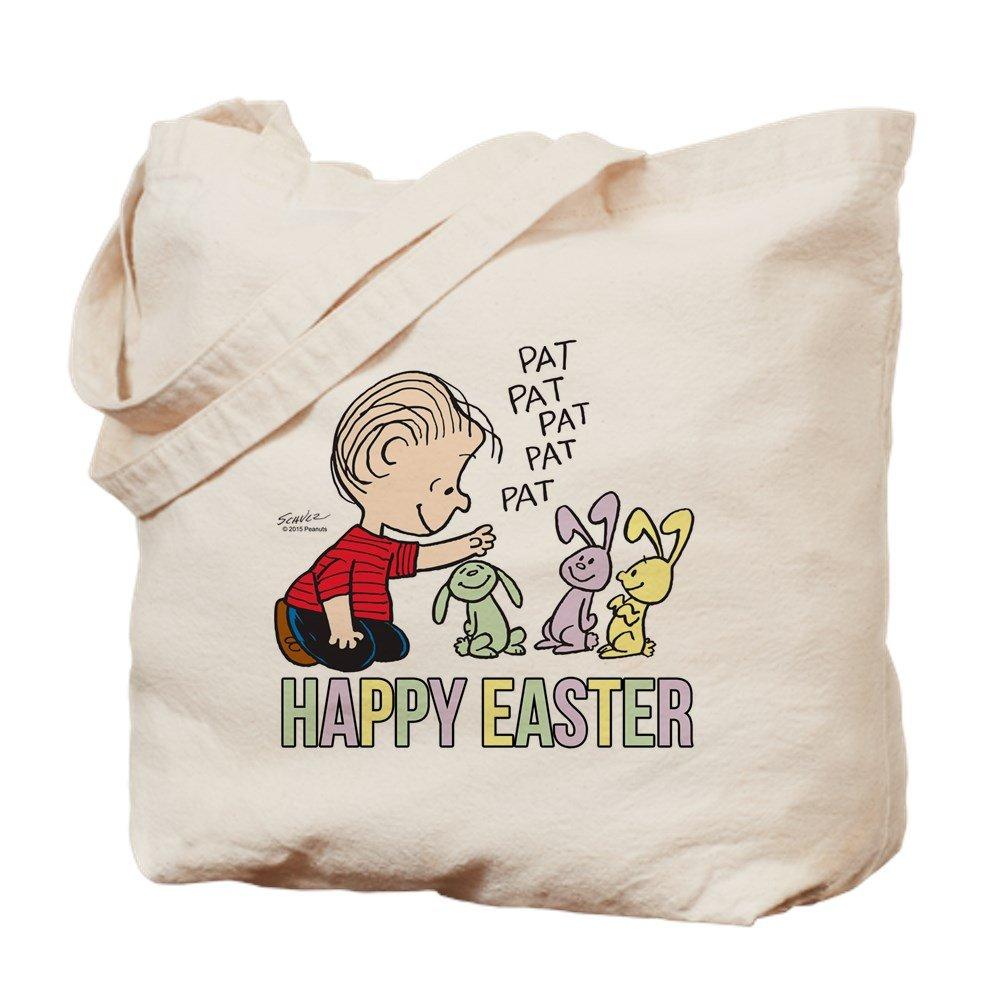 CafePress – Happy Easter Linus – ナチュラルキャンバストートバッグ、布ショッピングバッグ B015QCXJF4