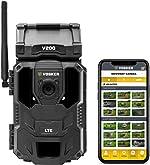 Vosker V200 | Cellular Security Camera | Built-in Solar Panel |