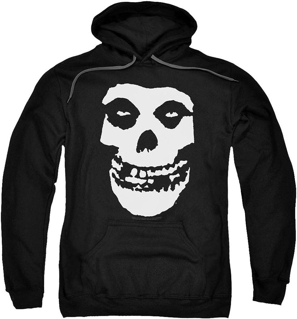 Misfits Skull Hoodie Black Kapuzenpullover Hooded Sweater