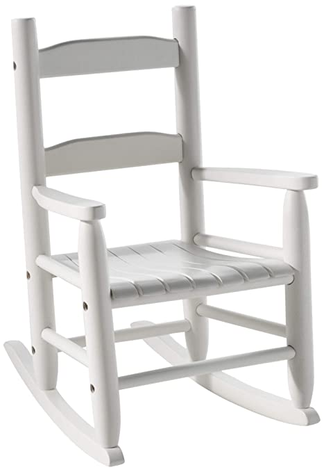 Miraculous Lipper International 555W Childs Rocking Chair 14 5 W X 19 75 D X 23 75 H White Short Links Chair Design For Home Short Linksinfo