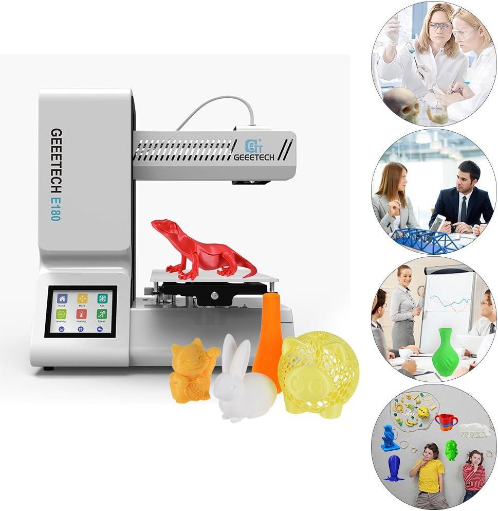 Geeetech E180 Impresora 3D de Alta Precisión Totalmente Ensamblada ...