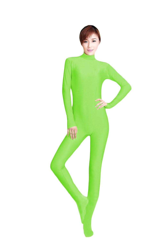 c0f1f3637 Amazon.com  WOLF UNITARD Women s Long Sleeve Bodysuit Stretch ...