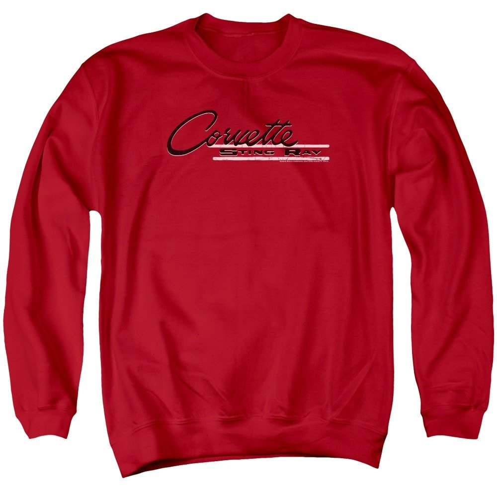 Chevy Retro Stingray Adult Crewneck Sweatshirt