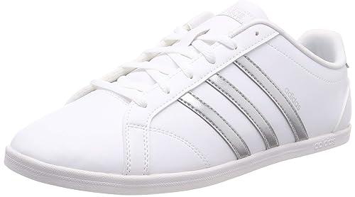 adidas Coneo Qt, Zapatillas de Gimnasia para Mujer, Blanco (FTWR White/Matte Silver), 44 EU: Amazon.es: Zapatos y complementos