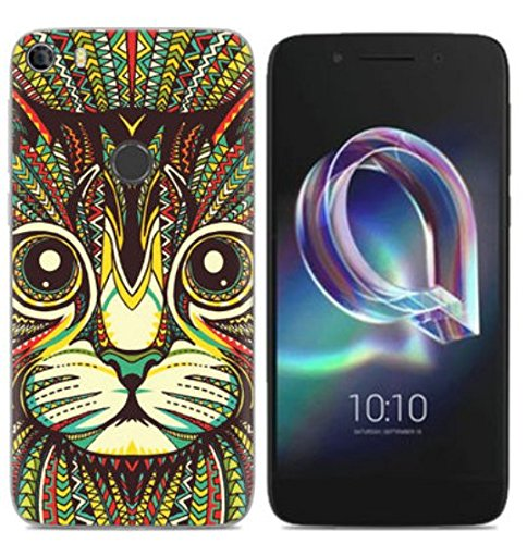 PREVOA Funda para Alcatel Idol 5 - Colorful Silicona TPU Funda Case para Alcatel Idol 5 Smartphone - 3 3