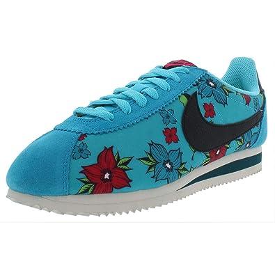sports shoes af92e 15a79 Amazon.com   Nike Mens Classic Cortez Nylon QS Low Top Fashion Sneakers Blue  8.5 Medium (D)   Fashion Sneakers
