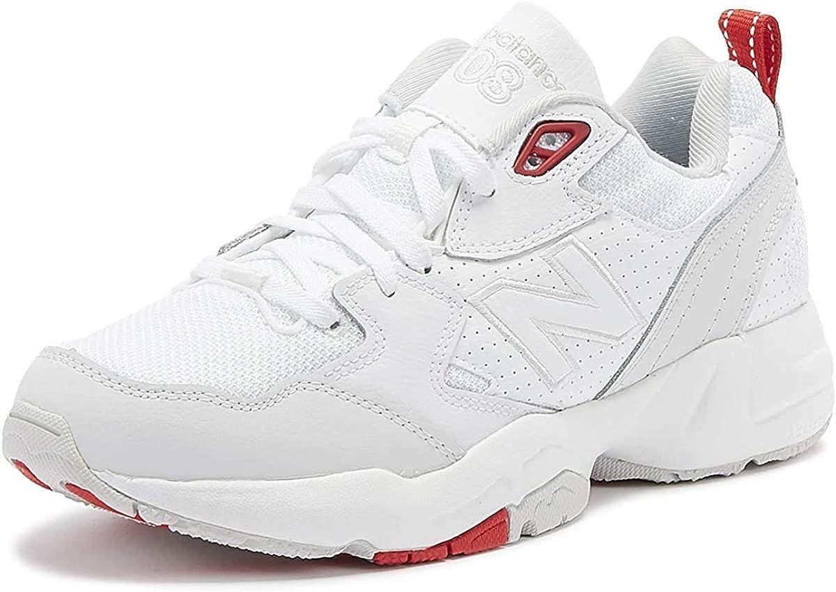 New Balance 708 Femmes Blanc//Gris//Rouge Basket