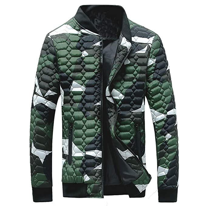 89dcf07c41e5e Realdo Mens Camouflage Outwear Jacket Clearance Sale, Men Winter Thickening  Coat Pullover Shirt Top Blouse
