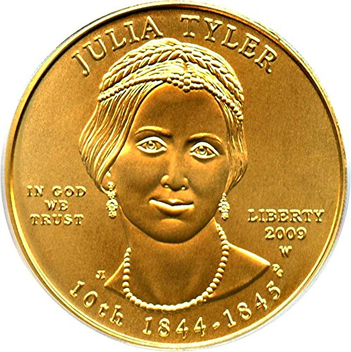 2009 W $10 First Spouse Julia Tyler Ten Dollar MS69 PCGS