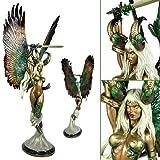 Angelus Statue Faux Bronze Version