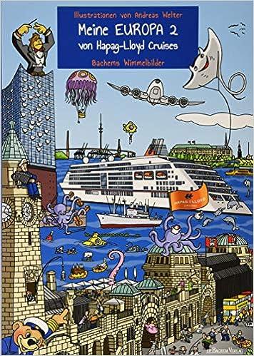 Meine EUROPA 2 von Hapag-Lloyd Cruises: Bachems Wimmelbilder