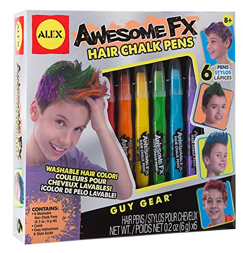 ALEX Toys Guy Gear Awesome FX Hair Chalk Pens -