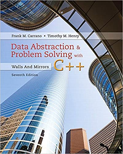 Amazon Com Data Abstraction Problem Solving With C Walls And