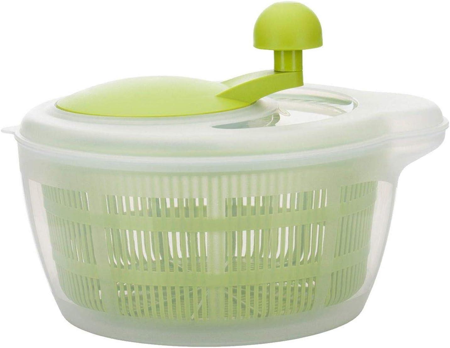 Westmark 2432224A Essoreuse à Salade Fortuna sans Pieds Anti-dérapants en Vert Pomme, Plastique, 30 cm