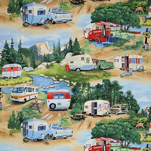 vintage trailer fabric - 3
