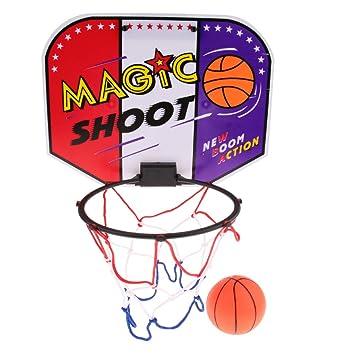 Portable Basket Ball Hoop with Ball Included TwitFish Mini Basketball Set