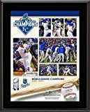 """Kansas City Royals 2015 MLB World Series Champions 10.5"""" x 13"""" Sublimated Plaque - MLB Team Plaques and Collages"""