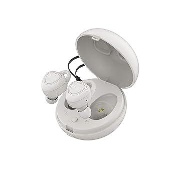 Vieta Pro Case - Auricular Bluetooth 5.0 true wirelesss, con Función Manos Libres, Resistencia al Agua IPX5, 9 horas de batería y Acceso al Asistente ...