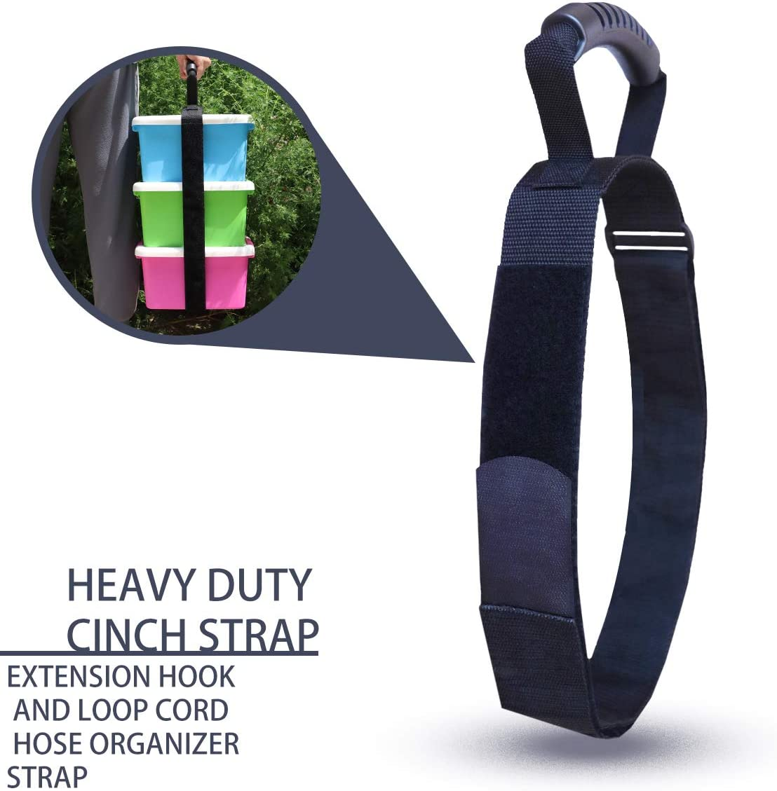 Heavy Duty Carrying Strap Holder for Bulky Item with Handle XL All Purpose Fully Adjustable Strap Cinches Tight for a Secure Hold Max Load for 154 LBs Ideal for Carrying Large Bulky Items