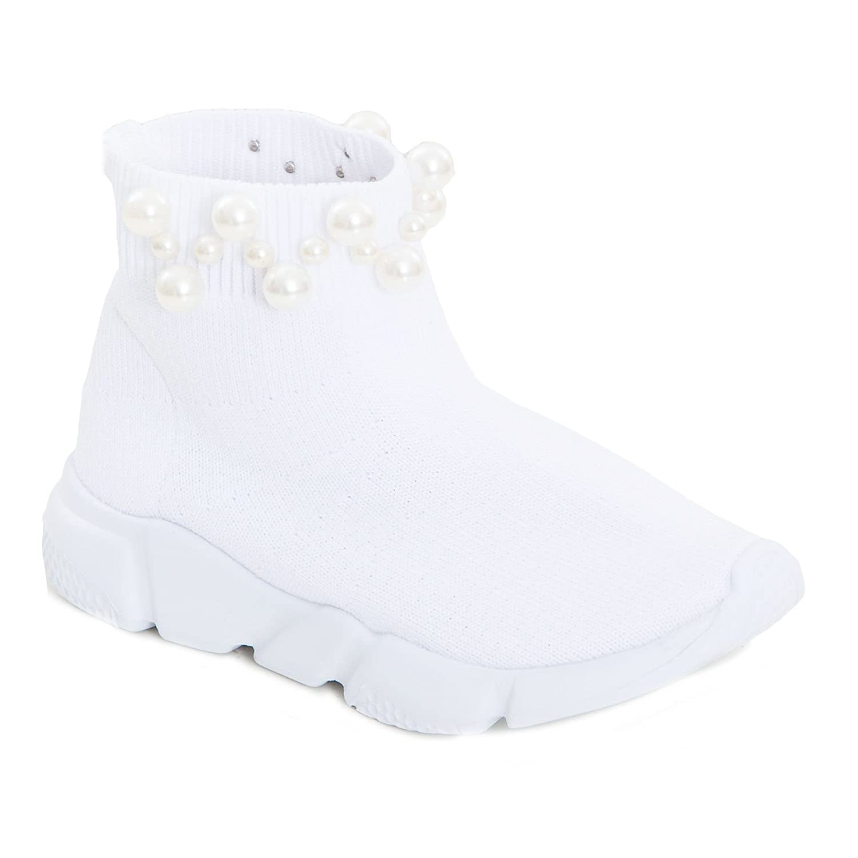 0a8f4ff9427995 Schuhe für Jungen Scarpe bimba bambina calzino perle sport tessuto elastico  sneakers sportive 963B