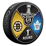 Inglasco 510AN004270 2018 Dueling Round 1 - Boston Bruins Vs Toronto Maple Leafs, Black, One Size