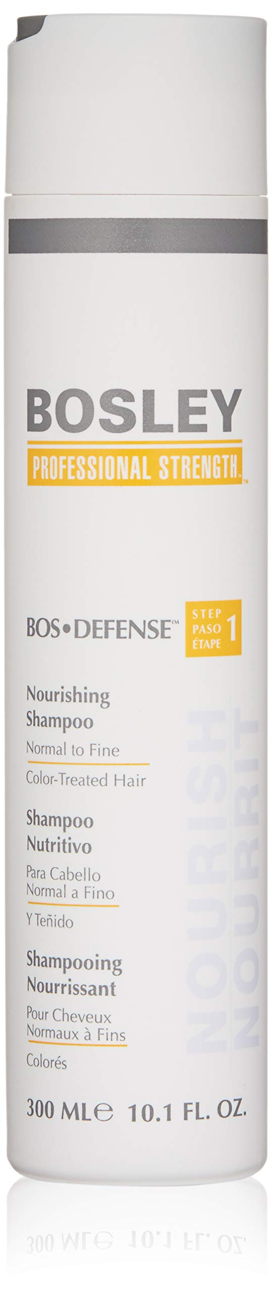 Bosley Bosley:bos-defense Nourishing Shampoo for Color-treated Hair 10.1oz, 10.1 Ounce by Bosley Professional Strength